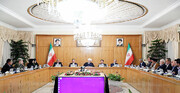 نخستین جلسه هیات دولت در سال جدید
