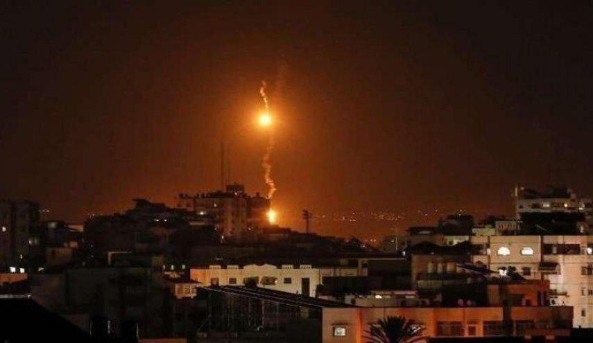 رژیم صهیونیستی بار دیگر به غزه حمله هوایی کرد