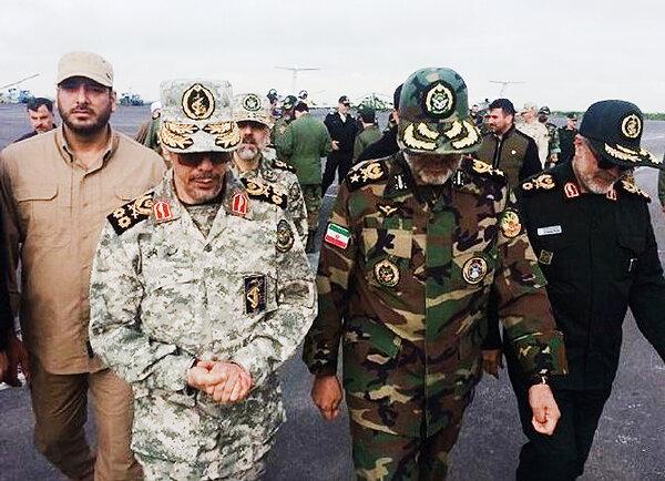 سرلشکر محمد باقری رییس ستاد کل نیروهای مسلح