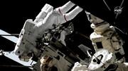 عکس | جایگزینی باتریهای ایستگاه فضایی بینالمللی