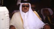 خروج ناگهانی امیر قطر از اجلاس سران عرب