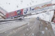 پل عابر شکست، جاده همدان به تهران را مسدود شد