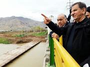 شدت باران مانع سفر جهانگیری به ایلام شد، حرکت به سمت خوزستان