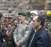 گزارش فرمانده عملیات ارتش در ستاد مقابله با بحران خوزستان
