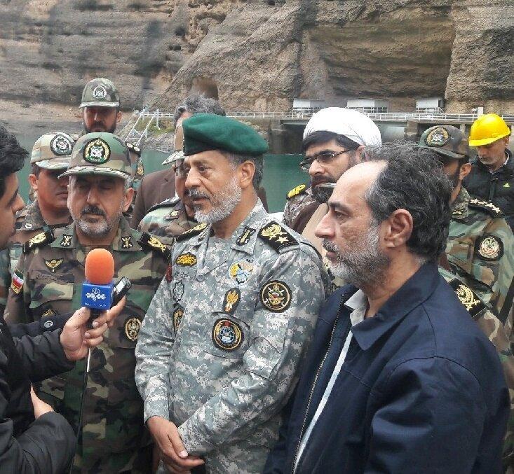 آخرین گزارش فرمانده عملیات ارتش در ستاد مقابله با بحران خوزستان
