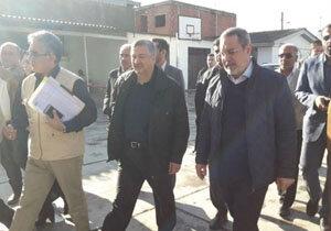 وزیر آموزش و پرورش از مدارس آسیبدیده سیل در آققلا بازدید کرد