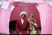عروسی در سیلاب | زندگی در آق قلا و گمیشان جریان دارد