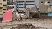 خانههای سیلزده حاشیه رودخانه تلار مازندران جا به جا میشوند