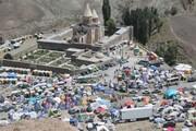 قره کلیسای چالدران میزبان ۴۷۰۰ نفر بازدید کننده بود
