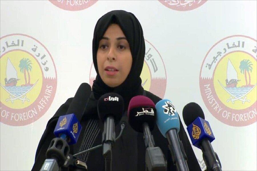 لولوه الخاطر سخنگوی وزارت خارجه قطر