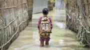 زندگی کودکان بنگلادشی تحت تاثیر تغییرات اقلیمی