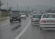 جادهها لغزنده است؛ با احتیاط رانندگی کنید