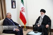 عکس | دیدار نخست وزیر عراق و هیات همراه با مقام معظم رهبری
