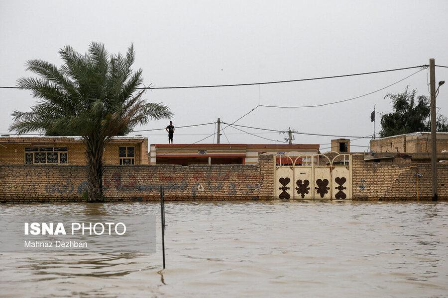 خسارت سیل به بیش از 3200 واحد مسکونی در کرمانشاه