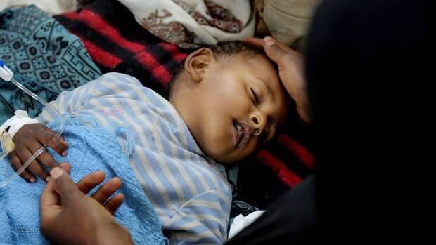 شيوع وبا در يمن