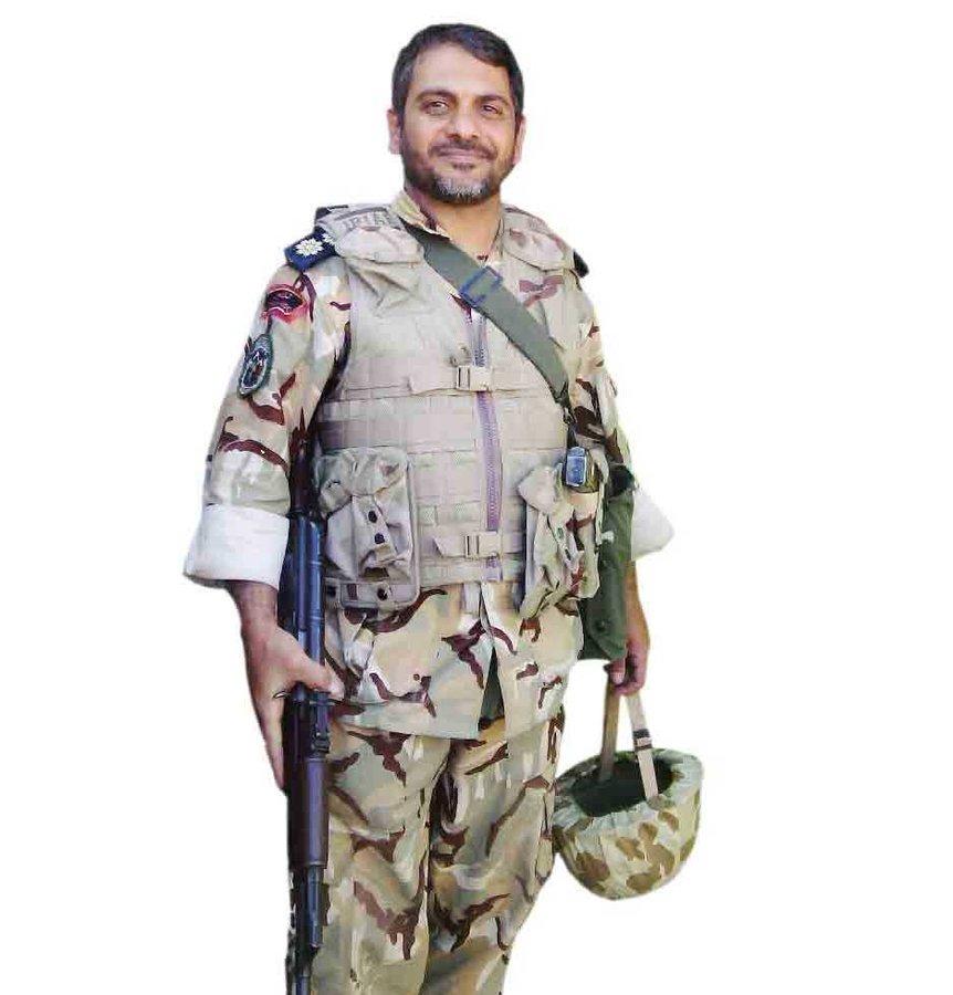 محمد حقیقی، افسر ارتش  ۴۶ساله لشکر۵۸ شاهرود