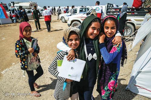 امداد فرهنگي در مناطق سيلزده