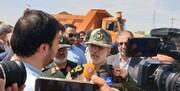 وزیر دفاع از قرارگاه مردمیاری عاشورائیان در خوزستان بازدید کرد
