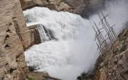 ۲۳ فروردین؛ خروجی آب از سد کرخه کاهش یافت