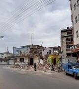 خانه خانوادگی هوشنگ ابتهاج در رشت تخریب شد
