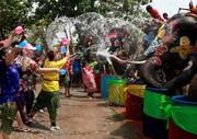 عکس روز: جشن آب