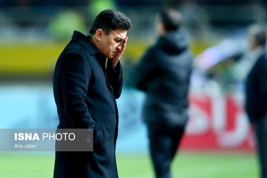 قلعهنویی: مسئولیت باخت به استقلال با من است/ در فوتبال چیزی به نام عدالت وجود ندارد!