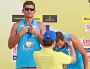 نایب قهرمانی تیم ایران ب در تور جهانی والیبال ساحلی ساتون