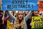عکس روز: اعتصاب برای آبوهوا