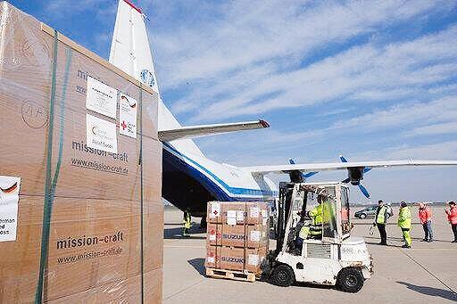 گزارش کمکهای خارجی به سیلزدگان