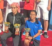 نایب قهرمانی درسا چراغی در مسابقات تنیس تور آسیا