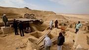 کشف مقبره پرشکوه از دوران مصر باستان