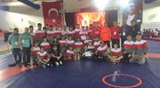 کشتی بینالمللی نوجوانان جام پیروزی ترکیه؛ تیم آزاد قهرمان و تیم فرنگی نایب قهرمان شد