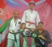 مدال نقره ناصر کلانتری در مسابقات قهرمانی جوجیتسو در قرقیزستان