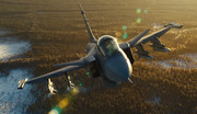 فیلم   زوم بدون تکان روی جنگنده مافوق صوت