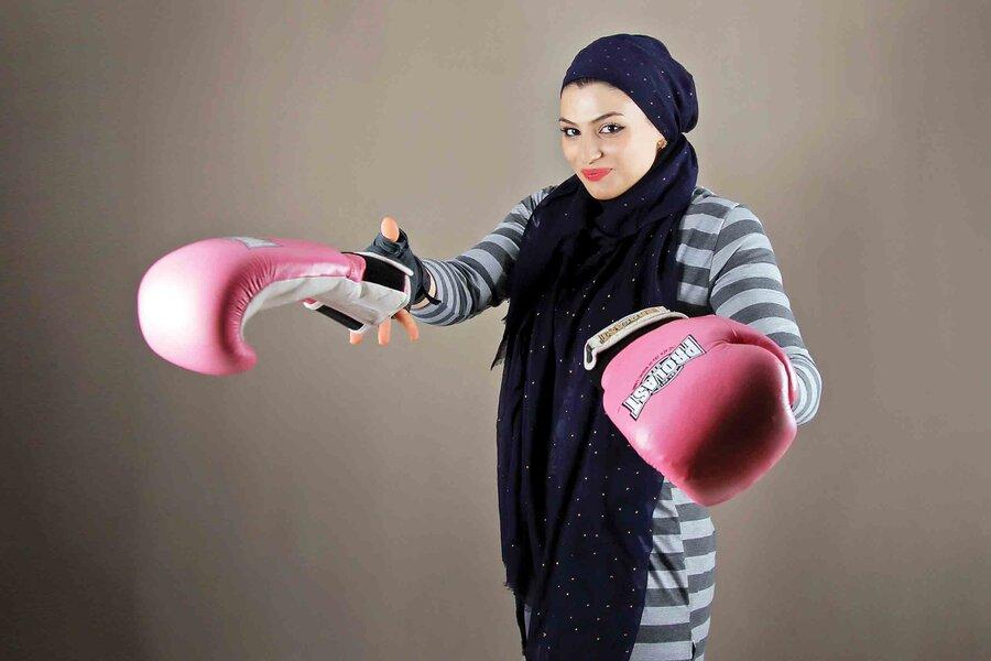 واکنش فدراسیون بوکس به مبارزه صدف خادم؛ دختر ایرانی در فرانسه