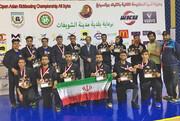 ۱۲ مدال ارمغان تیم کیک بوکسینگ ایران از مسابقات لبنان
