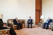 ظریف با بشار اسد دیدار کرد | مهمترین محورهای دیدار