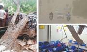سیل و طوفان در پاکستان ۲۵ قربانی گرفت
