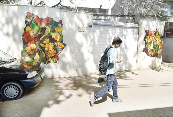 طرح زیباسازی کوچه و خیابانهای محله کن