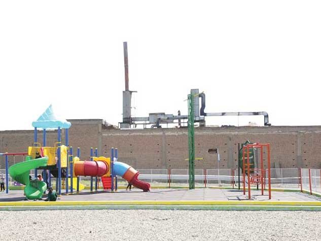 فعالیت مراکز صنعتی در همسایگی بافت مسکونی