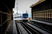 تست نخستین قطار از پروژه ۷۰ واگن آلومینیومی مترو تهران