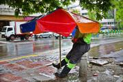 ۲۸ فروردین؛ بارشها ادامه مییابد، پراکنده و در برخی نقاط