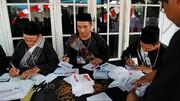 انتخابات ریاست جمهوری اندونزی | جوکو ویدودو پیشتاز شمارش اولیۀ آراء