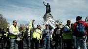 بازسازی نوتردام |  اعتراض هواداران جلیقه زردها