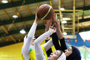 درخشش نماینده بسکتبال بانوان ایران در رقابتهای غرب آسیا