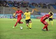 لیگ برتر فوتبال | تقسیم امتیازات پارس جنوبی و سپیدرود