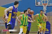 لیگ برتر بسکتبال؛ شهرداری گرگان و پالایش نفت آبادان در فینال