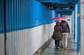 باد و باران در تهران ادامه دارد