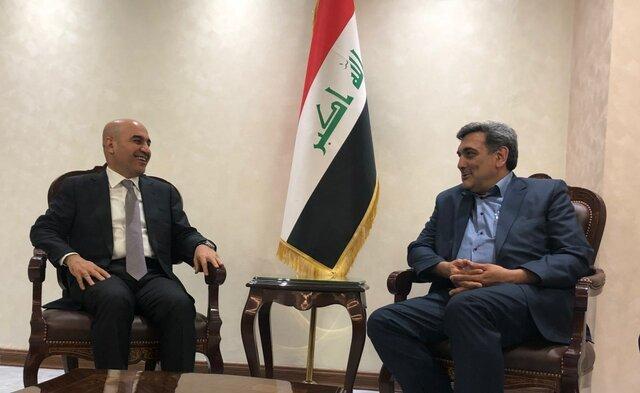 حناچي و وزير مسكن  و شهرداري هاي عراق