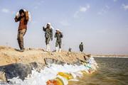 شادگان با احداث ۱۲ کیلومتر سیلبند در مقابل سیلاب ایمن شد